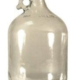 Clear One (1) Gallon Glass Carboy Jug (jar)