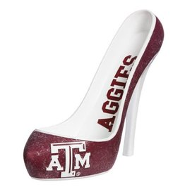 Glitter Shoe Wine Bottle Holder - Texas A&M