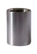 "Stainless Steel 1/2"" FPT Threaded Coupler Coupling"