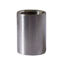 "Stainless Steel 1/2"" FPT Threaded Coupler Coupling"