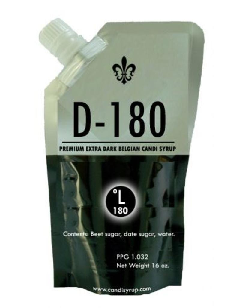 Belgian Extra Dark Candi Syrup D-180 (D180) - 1 lb