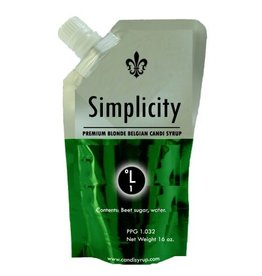 Belgian Simplicity Clear Candi Syrup D-0 (D0) - 1 lb