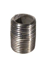 """1/2"""" MPT Close Stainless Steel Nipple"""