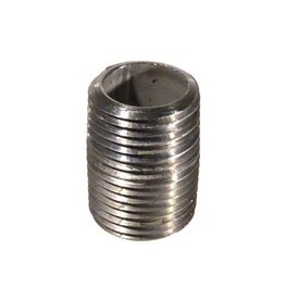 "1/2"" MPT Close Stainless Steel Nipple"