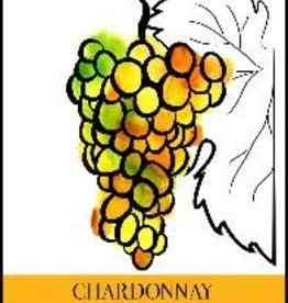 Chardonnay Wine Label - 30/Pack