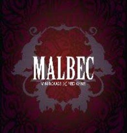 Malbec Wine Label - 30/Pack