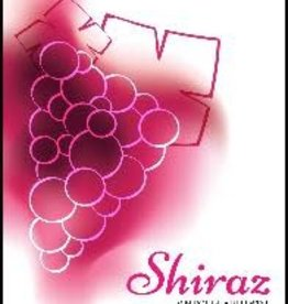 Shiraz Wine Label - 30/Pack