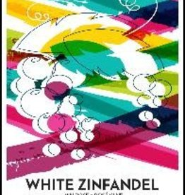 White Zinfandel Wine Label - 30/Pack