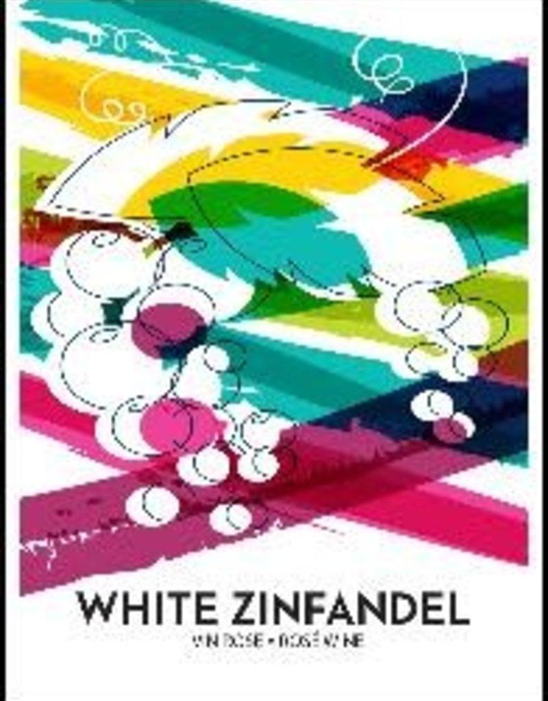 White Zinfandel Wine Label - 30/Pack