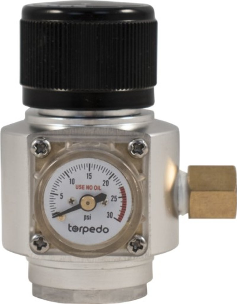 Torpedo Mid-Size CO2 Regulator