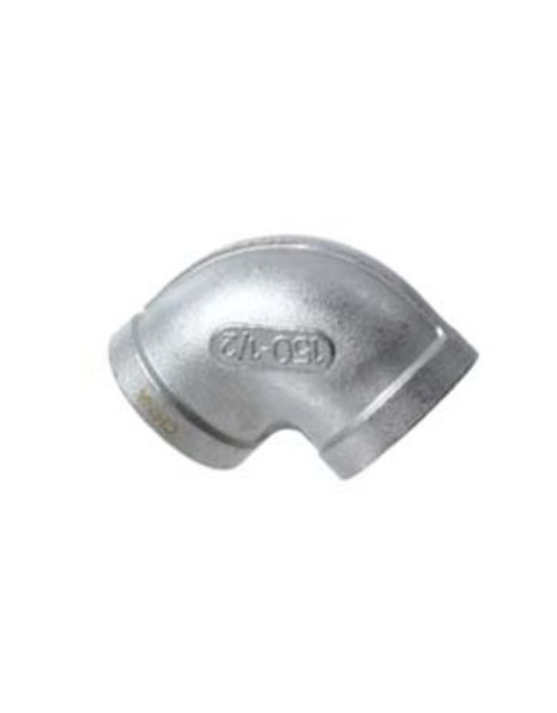 Stainless Elbow - 1/2 in. FPT x 1/2 in. FPT