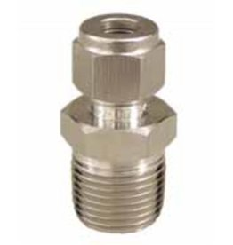 "Stainless Fitting - 3/8"" Compression x 1/2"" MPT"