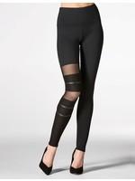 Mondor Legging avec insertion de résille  - Mondor 5667