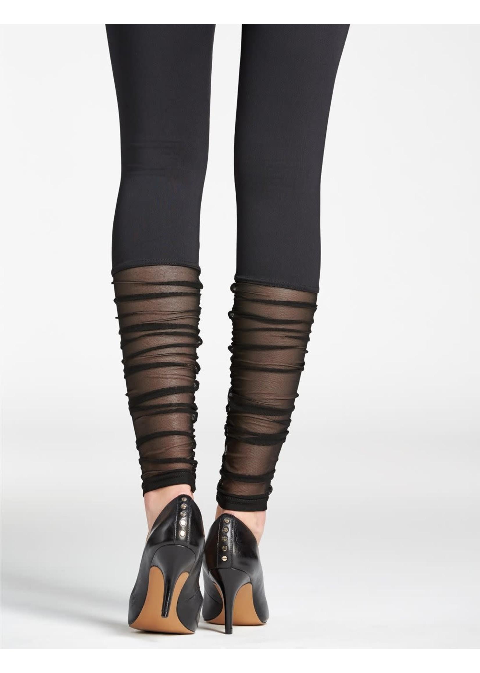 Mondor Legging avec filet plissé au bas  - Mondor 5657
