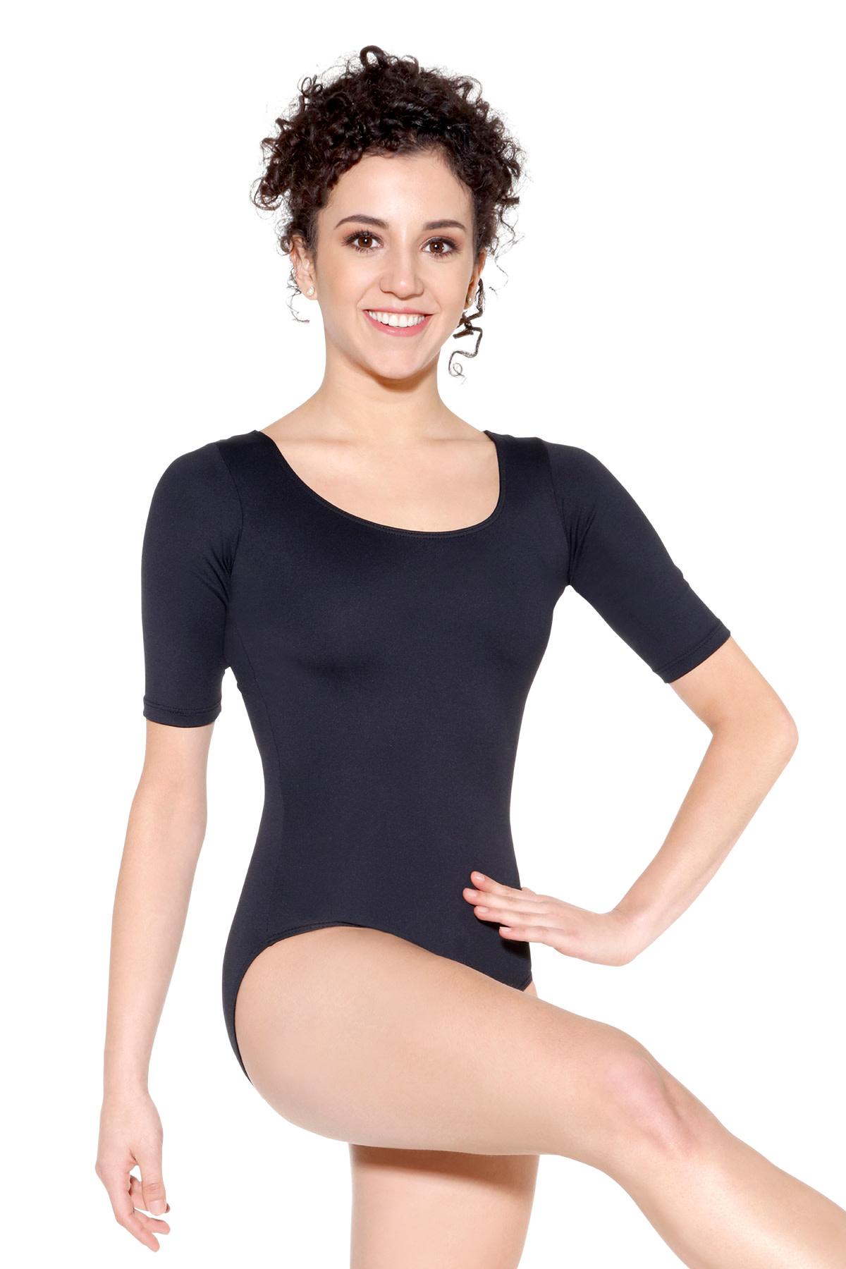 So Dança Maillot avec manche au-dessus du coude - SL27 - Ashley