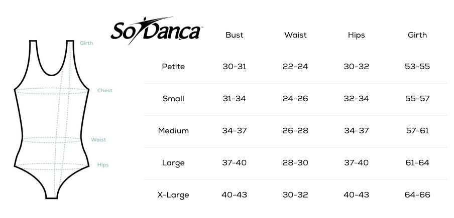 Charte grandeur So Dança - Femme
