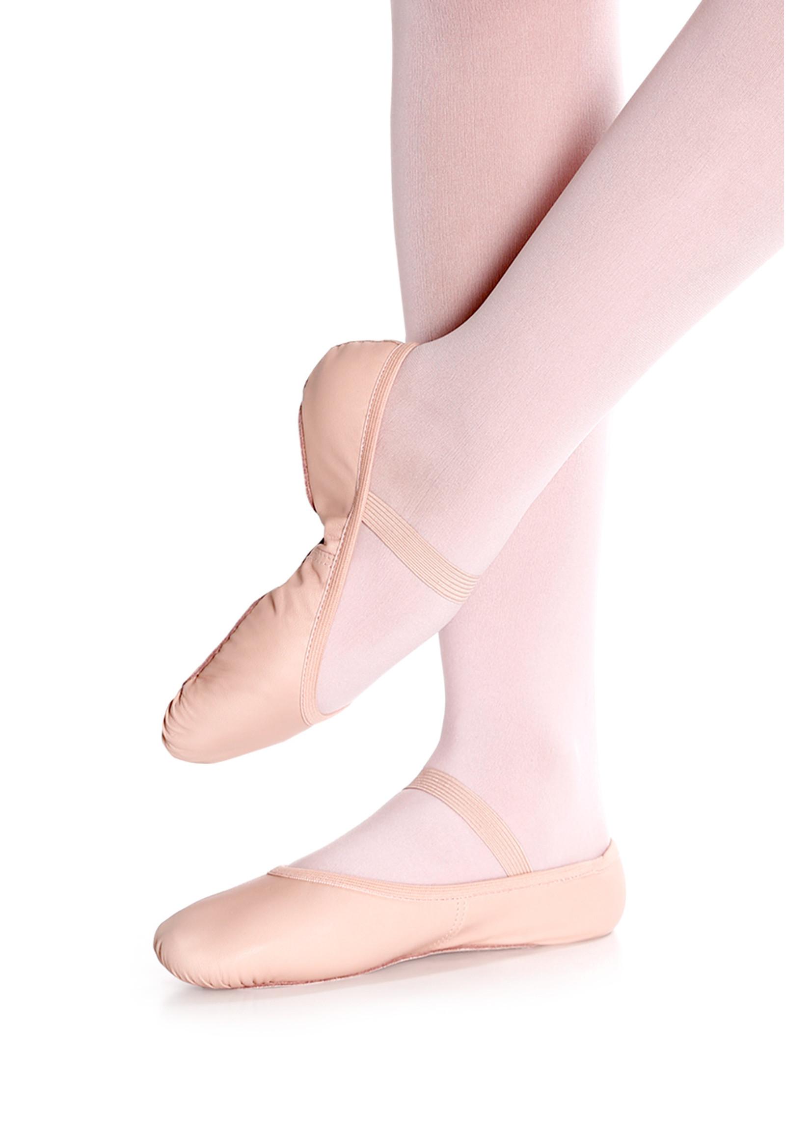 So Dança Demi-pointe en cuir - Enfant - So Dança - Brice - SD55S