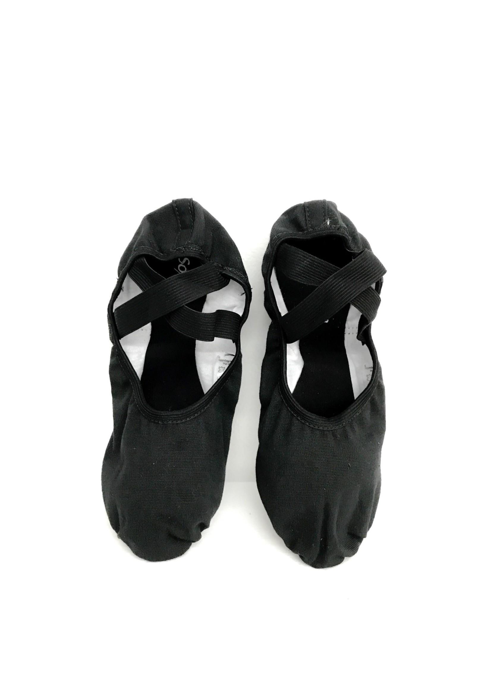 So Dança Demi-pointe semelle séparée - Coton - So Dança - SD16