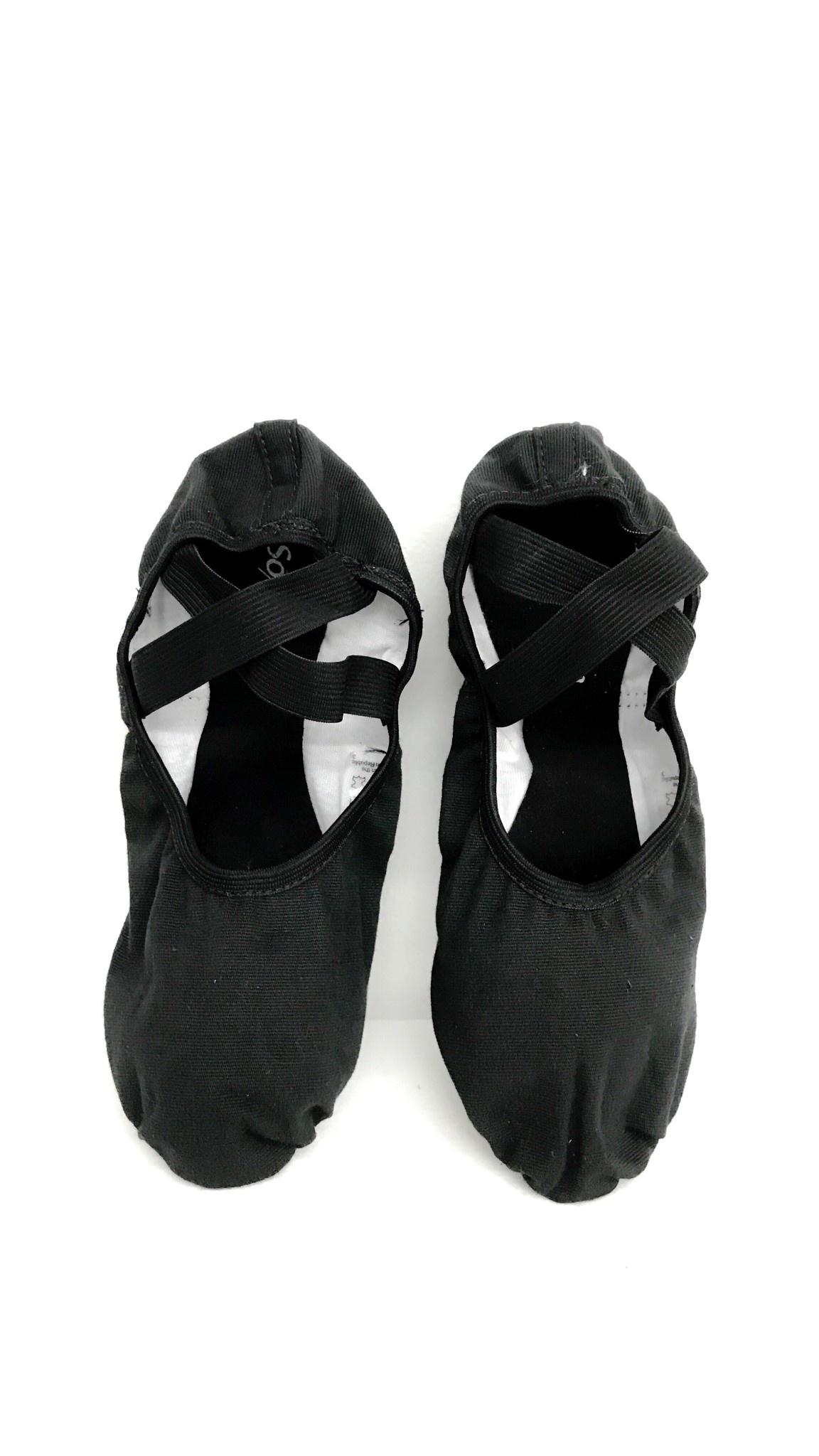 So Dança Demi-pointe semelle séparée - Coton - SD16