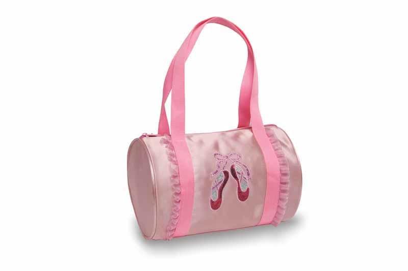 Danshuz Danshuz - B20533 - Sac rose avec pointes brodées  «My cute ballet bag » -