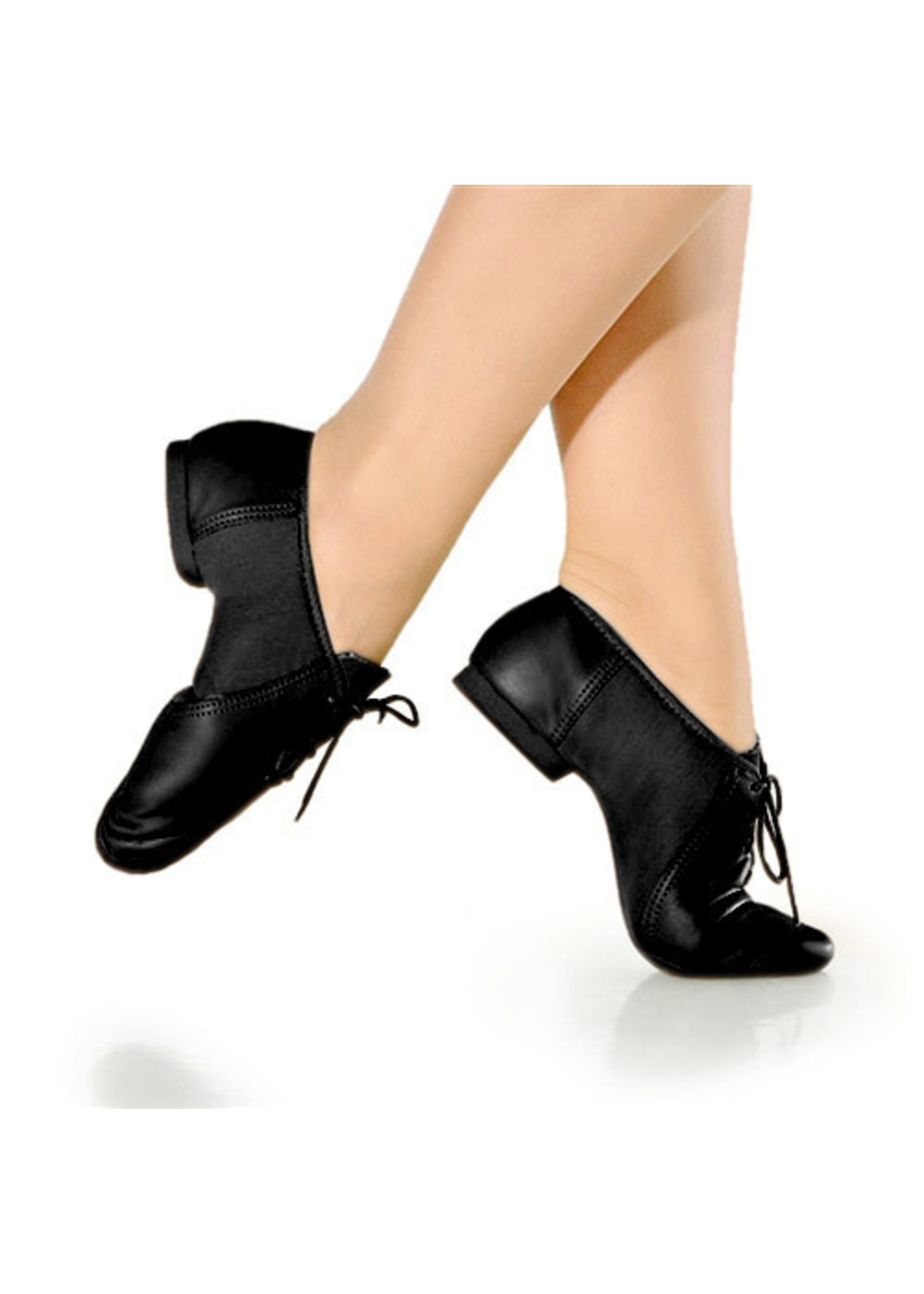 So Dança Chausson de jazz à lacer - So Dança - JZ15 - Cuir