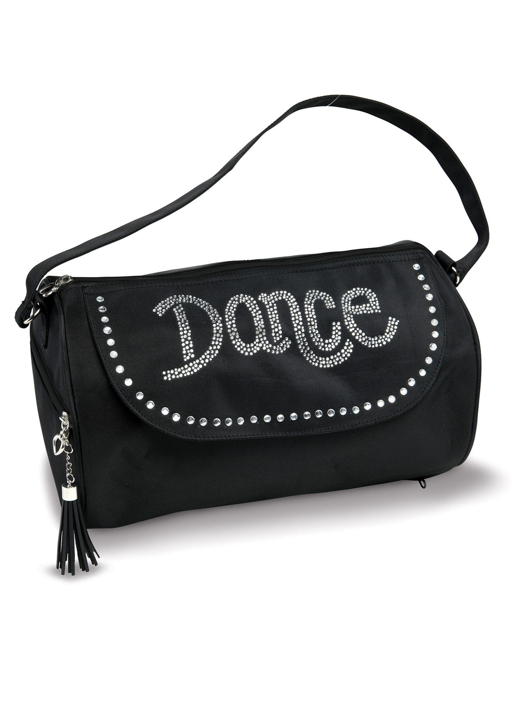 Danshuz Sac noir avec pierres du Rhin « Dance » - Dansbagz B840