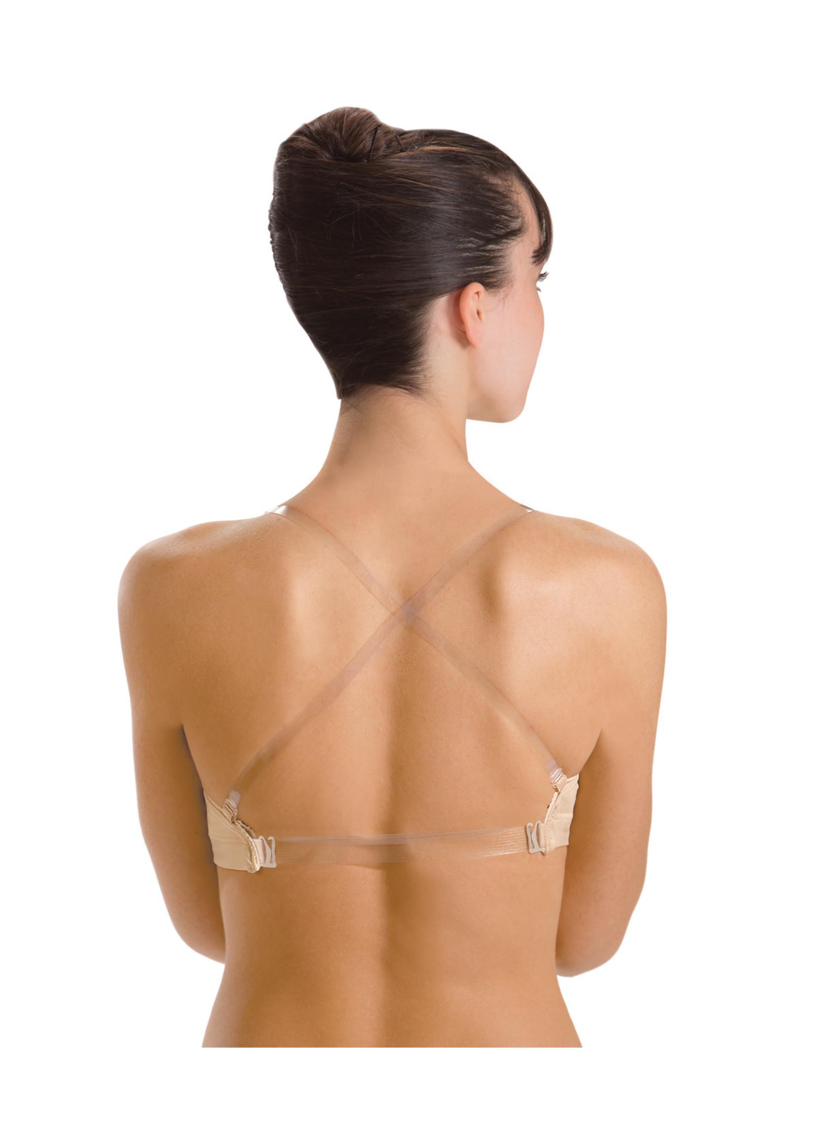 Motionwear Soutien-gorge avec bande et bretelles transparentes - Motionwear - 2493