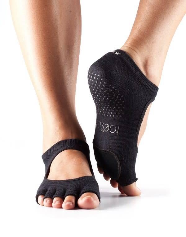 ToeSox Bas avec pièce de cuir - Plié Half Toe