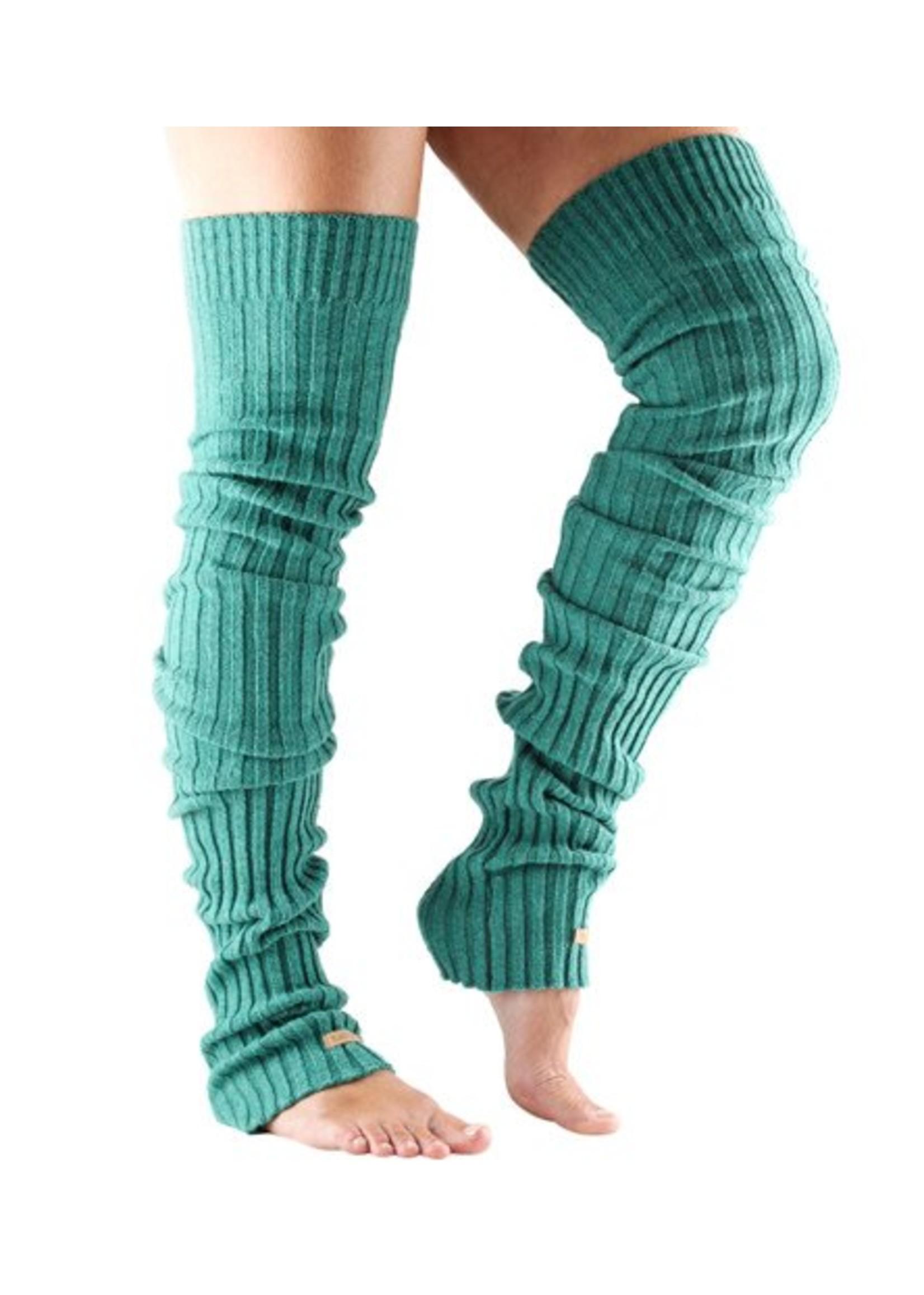 ToeSox Réchauffe-jambes côtelés ToeSox Leg Warmer Thigh High