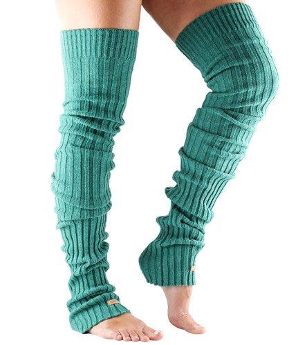 ToeSox ToeSox Leg Warmer Thigh High - Réchauffe-jambes côtelés - Long