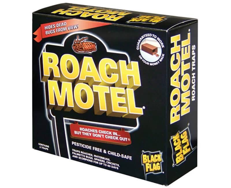 BLACK FLAG Back Flag Roach Motel 2 Pack