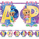 Unique Shimmer and Shine Large Jointed Banner