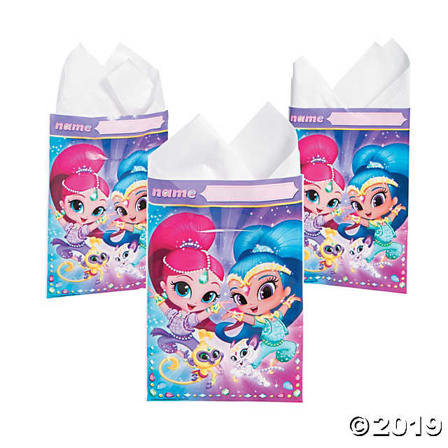 Unique 8 Shimmer and Shine Loot Bags