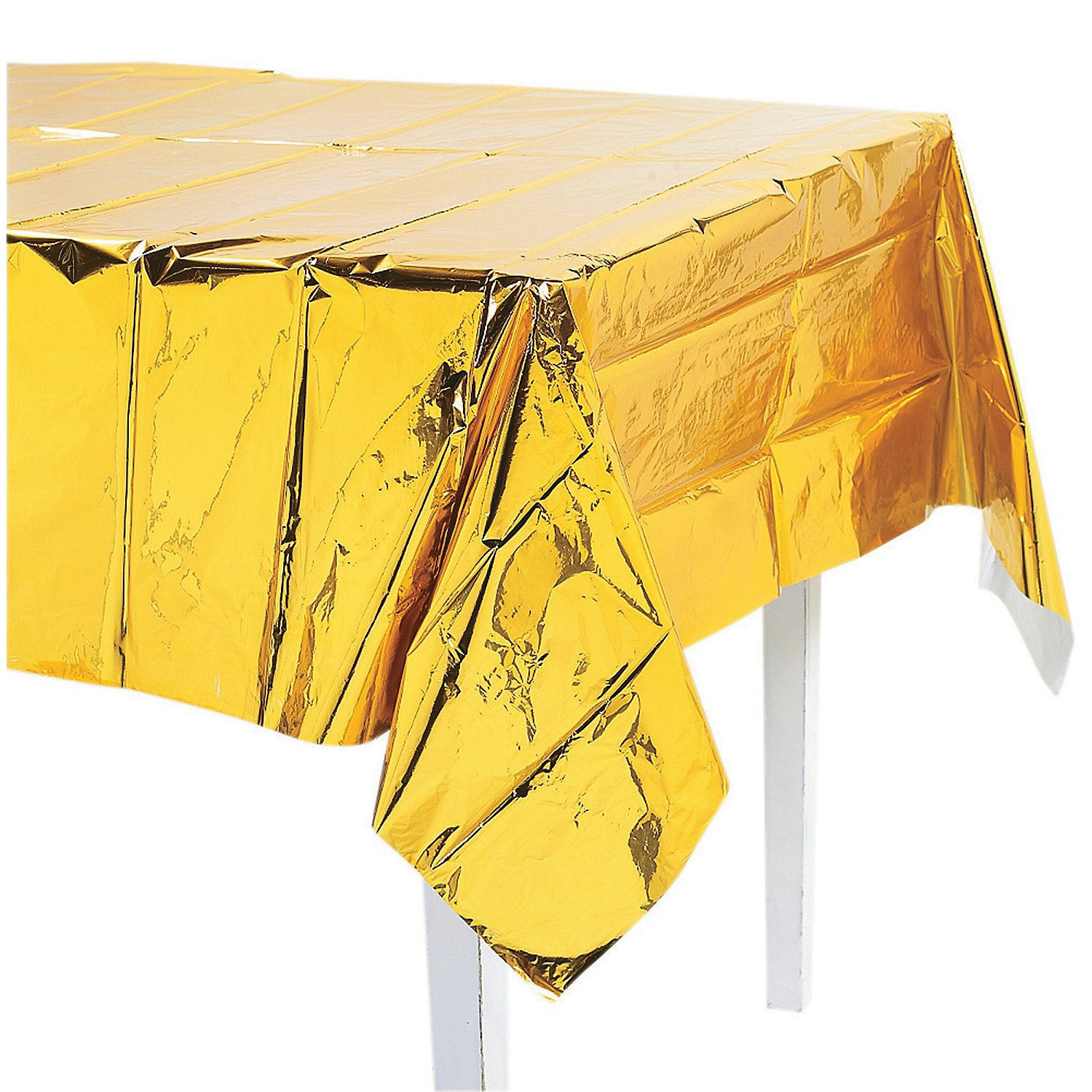 Unique Gold Foil Tablecover