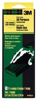 3M SANDBLASTER 3M 910-XLA AREA FINE/MED IUM SANDING SPONGE 11829 - EACH