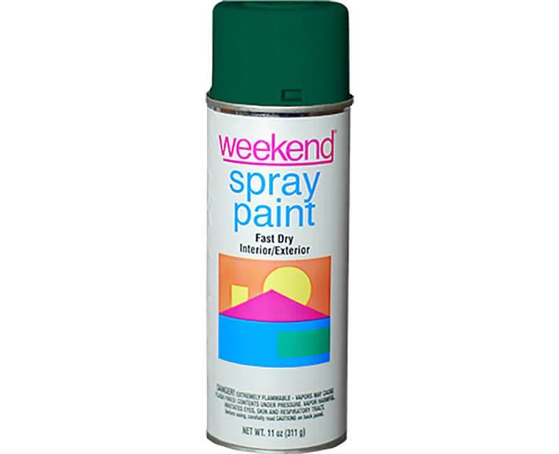 DIVERSIFIED BRANDS/KRYLON Krylon Weekend Forest Green Spray Paint