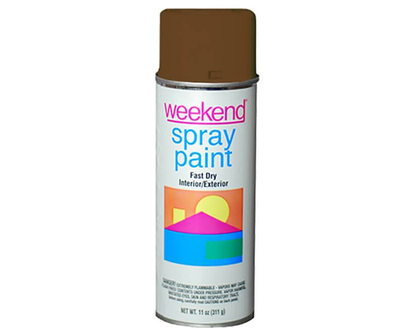 DIVERSIFIED BRANDS/KRYLON Krylon Weekend Chocolate Spray Paint
