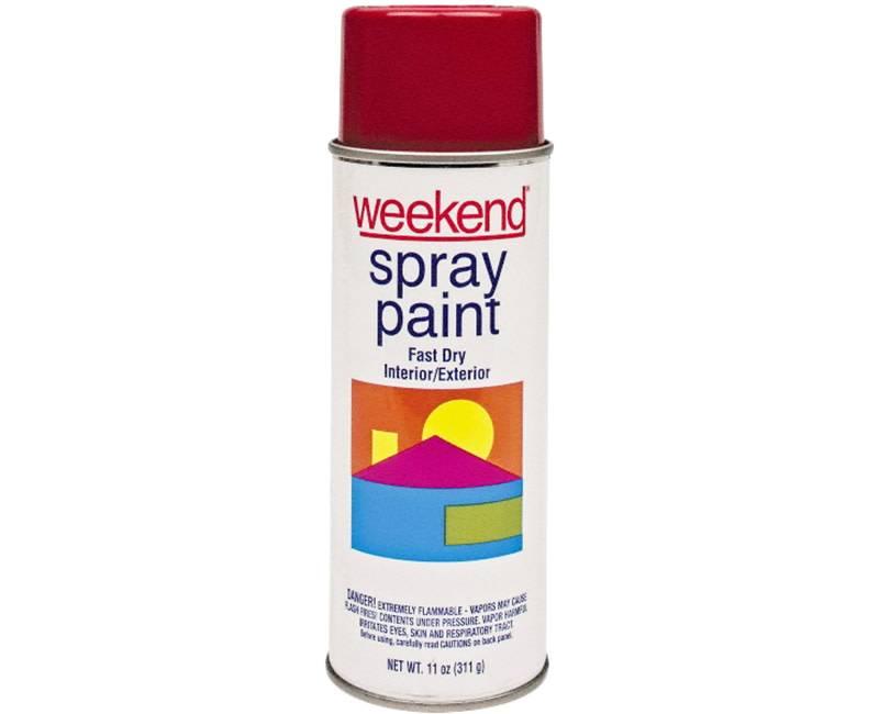DIVERSIFIED BRANDS/KRYLON Krylon Weekend Cherry Red Spray Paint