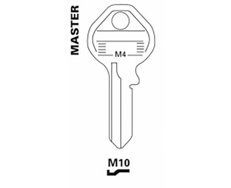 JET HARDWARE MFG JET 32932 M10 MASTER KEY BLANKS