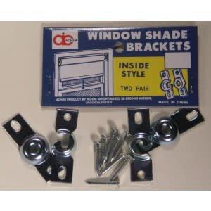 ACHIM Window Shade Brackets Inside Style 2 Pair
