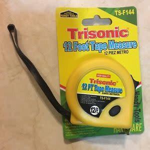 TRISONIC Trisonic 12' Tape Measure