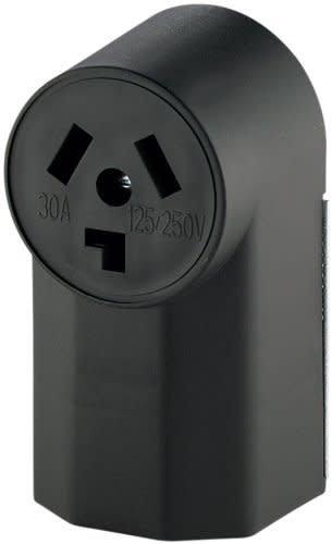 COOPER Surface Dryer Receptacle Black 125