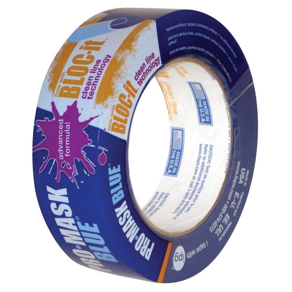 """PRO-MASK Pro-Mask Blue Tape 1-1/2"""" X 60 YDS"""