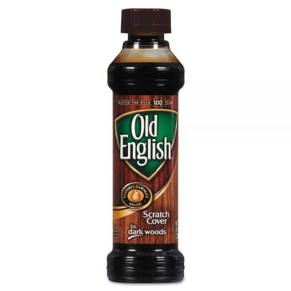 OLD ENGLISH 8 oz Old English Scratch Cover Dark Wood