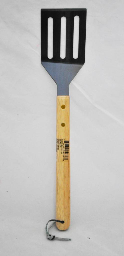 "Pioneer Associates BBQ Turner Tool 14"" Wood Handle"