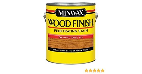 MINWAX 223 COLONIAL MAPLE WOOD FINISH PENETRATING STAIN 8OZ