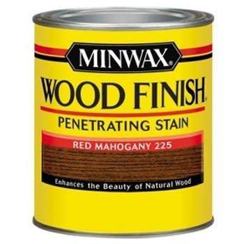 MINWAX 225 Red Mahogany Wood Finish Penetrating Stain 8oz