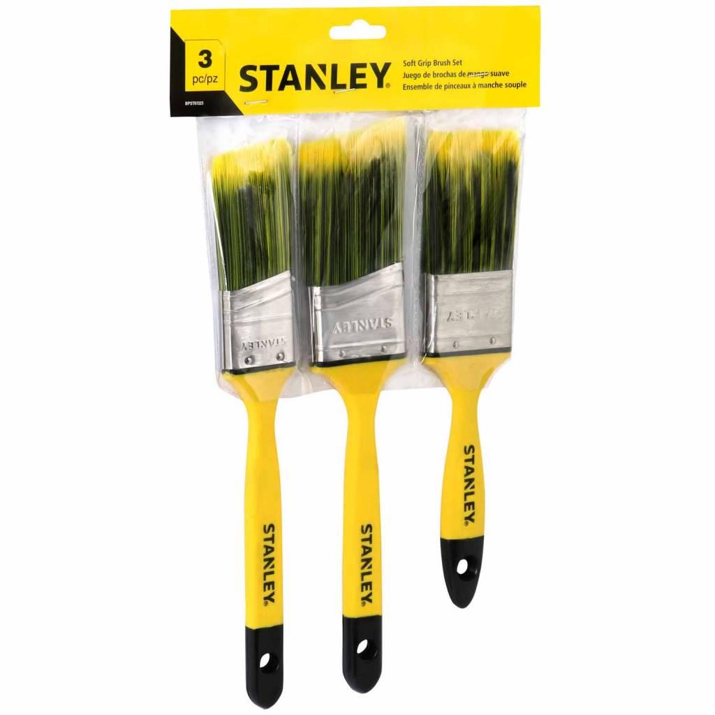 STANLEY 3 Pcs Soft Brush Set
