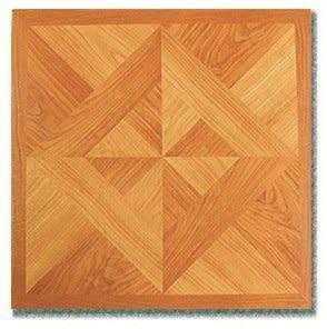 Riviera 2 Tone Parquet Oak Vinyl Self Adhesive Tiles 45Pk.