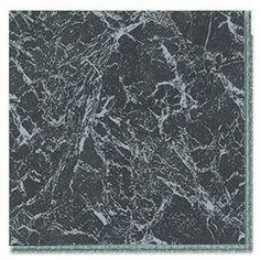 Riviera Piazza Millano Black Marble Self Adhesive Tile 45Pk